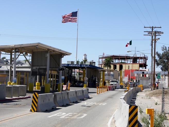 Arizona-United States border in Arizona