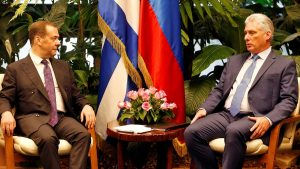 Moscow Strengthens Its Support For The Cuban Regime: The Russian Prime Minister Traveled To Havana To Meet Miguel Díaz-Canel