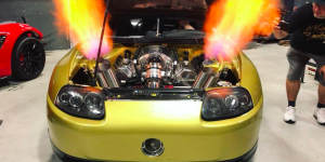 This Toyota Supra With 2,800 Hp Is A Festival Of Llamas