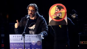 Javier Bardem Calls Donald Trump And José Luis Martínez Almeida Stupid In The Climate March