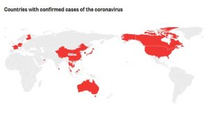 Countries With Confirmed Coronavirus Infection