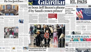 The Coronavirus In China And Donald Trump's Denial Of Climate Change, On The Covers Of World Newspapers – TN – All News