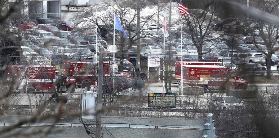 Attacker kills five people at the Molson Coors brewery in Milwaukee