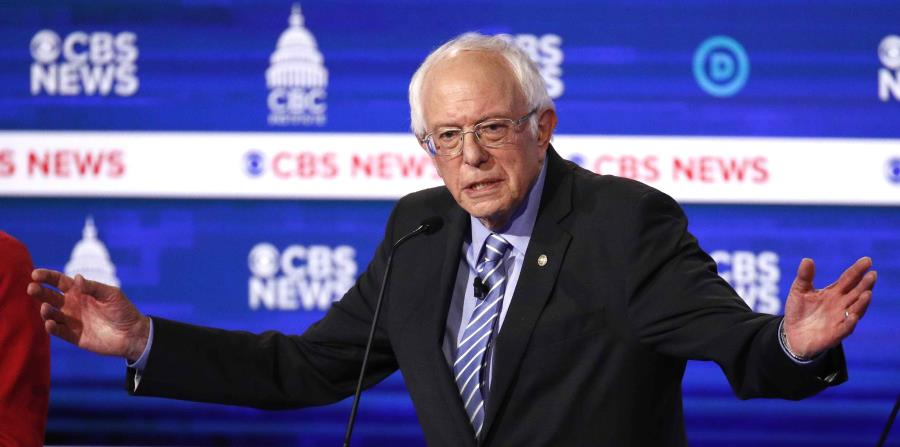 Bernie Sanders was the target of the attacks in the Democratic debate last night