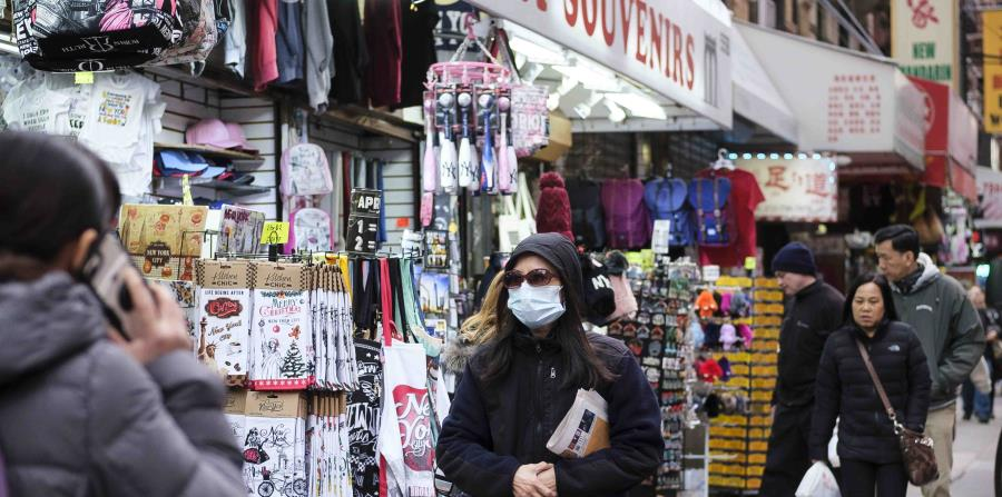 Chinatown in New York suffers the ravages of fear of coronavirus
