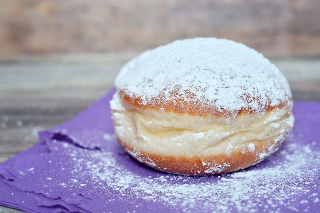 This Jelly Doughnut Says Many Reasons for Our Sugar Craving
