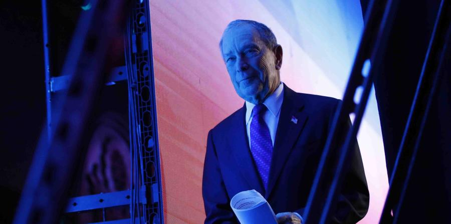 Michael Bloomberg manages to enter the next Democratic debate in Las Vegas