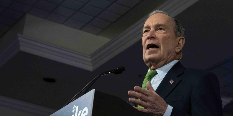 Mike Bloomberg will participate tonight in his first presidential debate