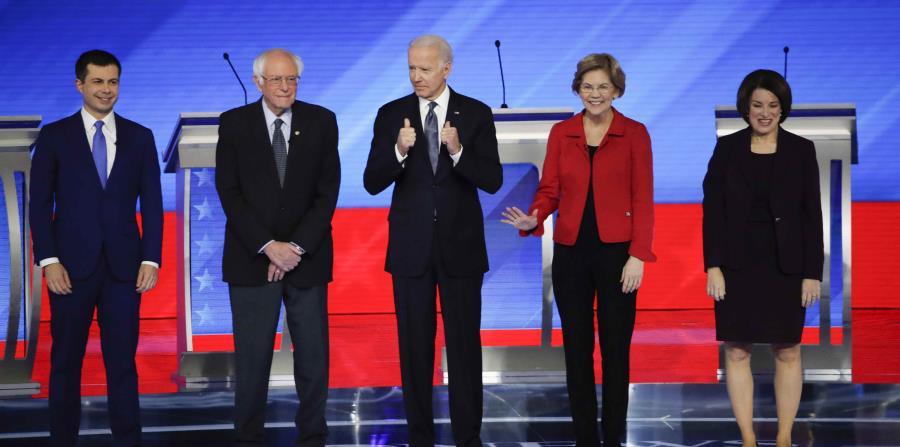 Pete Buttigieg and Bernie Sanders repel attacks in the New Hampshire Democratic debate