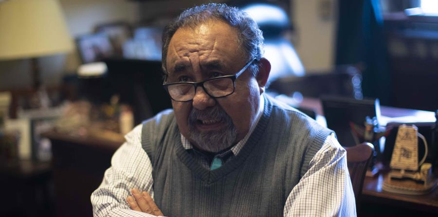 Raúl Grijalva denounces that Trump wall construction damages Apache tombs in Arizona