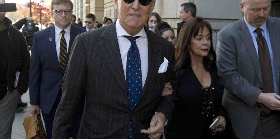 Roger Stone, friend of Donald Trump, is sentenced to 40 months in prison for lying to Congress