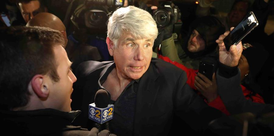 The former governor of Illinois leaves prison after Trump commute his sentence