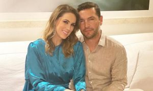 Martín Fuentes, husband of Jacky Bracamontes, suffers a spectacular accident while skiing
