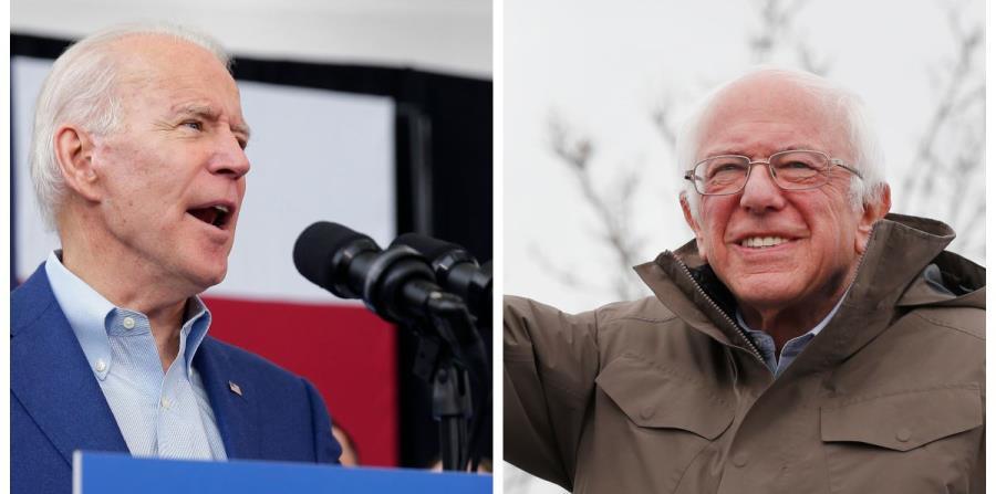 Joe Biden wins in Virginia and Bernie Sanders in his Vermont state