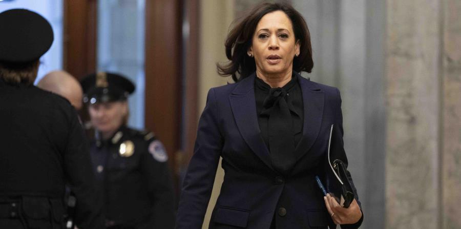 Kamala Harris endorses Joe Biden, who continues to add support among Democrats