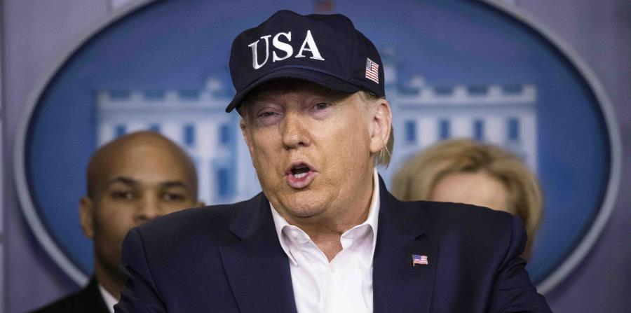 Donald Trump alters his discourse on China due to the coronavirus