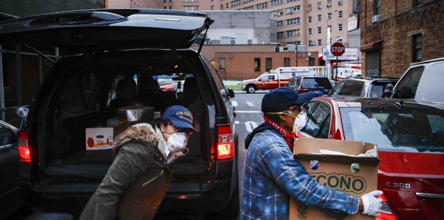 """Immigrants go hungry in New York: """"They cry crying for food"""""""