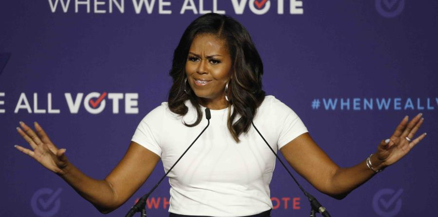 Michelle Obama supports offering more options for voting during the pandemic