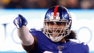 Defensive Lineman Leonard Williams Signs Franchise Player Tag With Giants