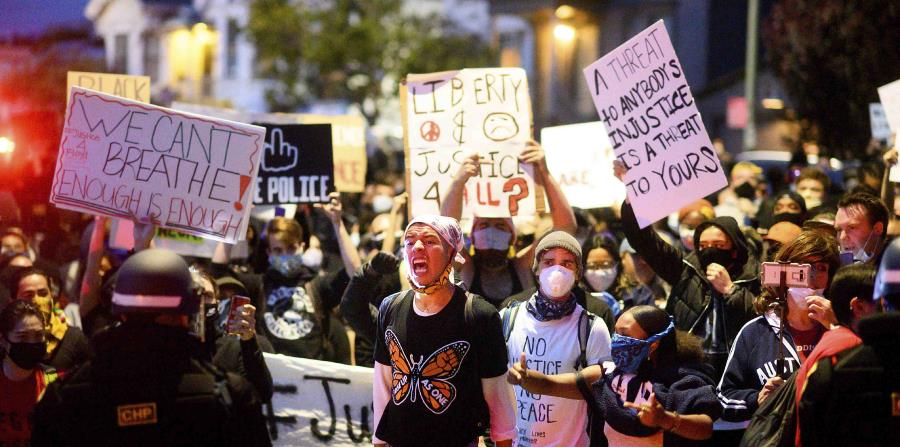 Protests over police brutality against George Floyd spread across the United States