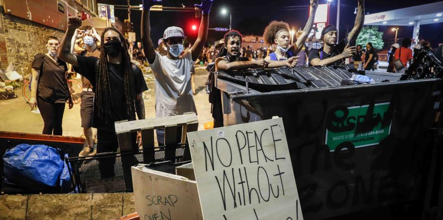"""""""There will be no peace without justice"""": the claim of the sixth day of protests in the United States"""
