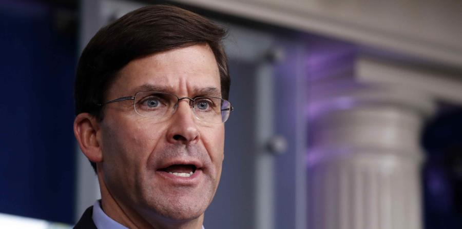 Defense Secretary Opposes Using Military to Contain Protests in the United States