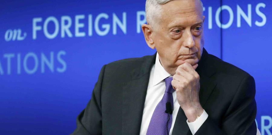 """Former Defense Secretary James Mattis: Donald Trump """"tries to divide us"""""""