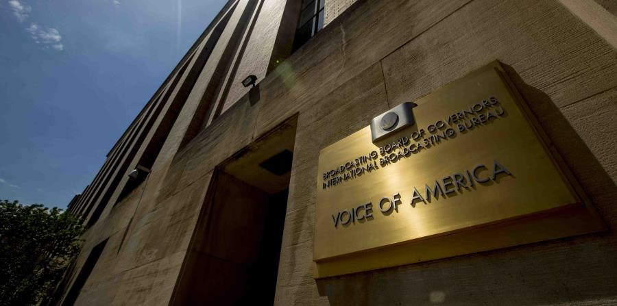 The new director of Voice of America makes big changes in the organization