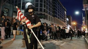 Protesters Defied Curfews, But There Were Fewer Clashes On The Eighth Night Of Protests In The US