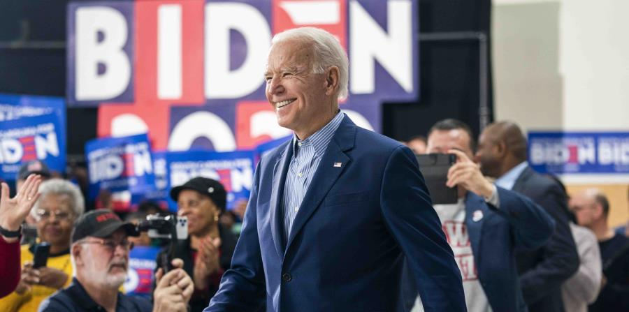 Poll places Joe Biden beating Donald Trump by 10 percentage points
