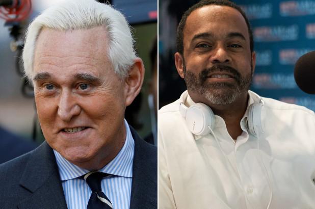 "Roger Stone Calls Black Radio Host Morris W. O'kelly a ""Negro"""