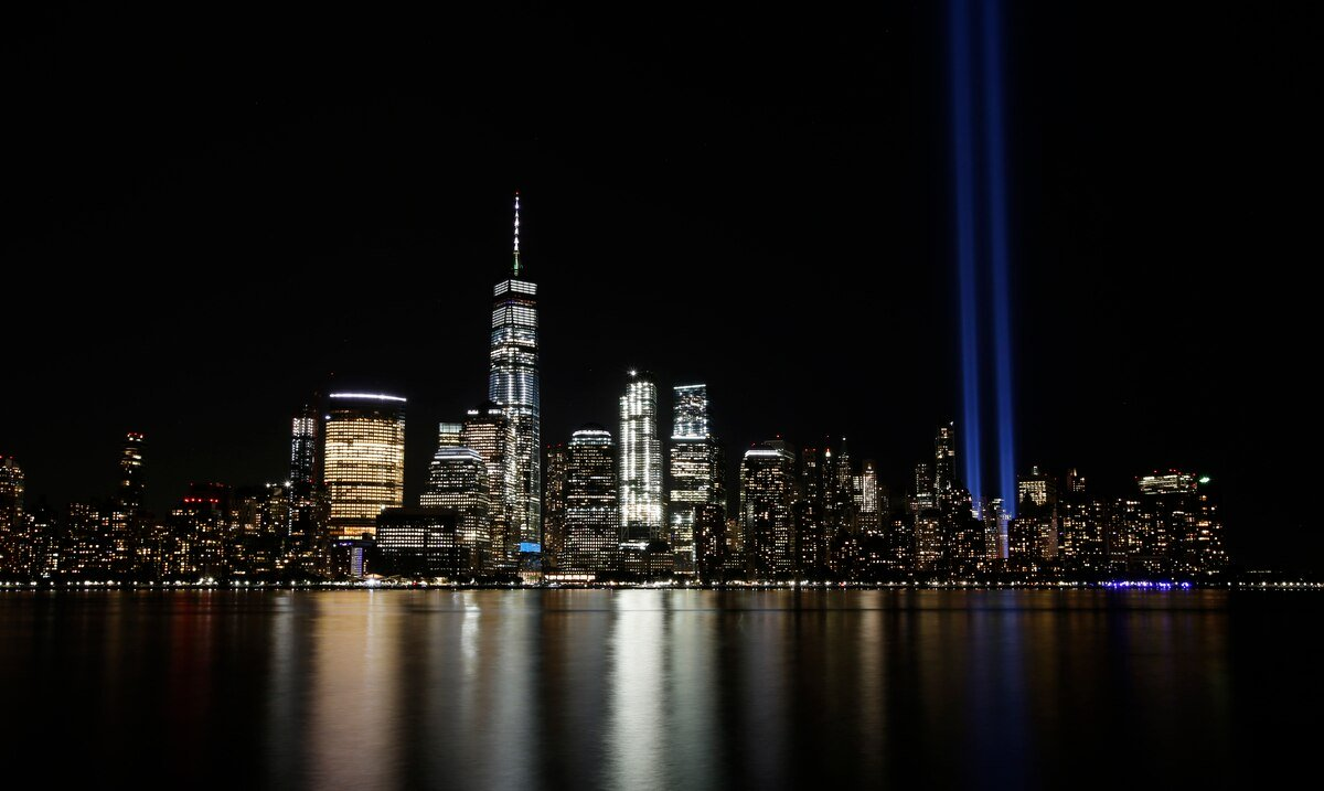 Here you can see the commemorative events of the September 11 attacks