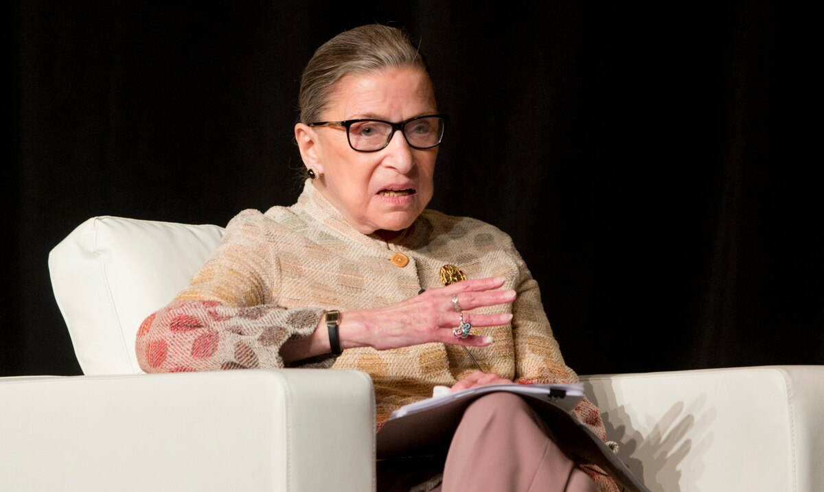 Associate Justice of the United States Supreme Court, Ruth Bader Ginsburg, passes away