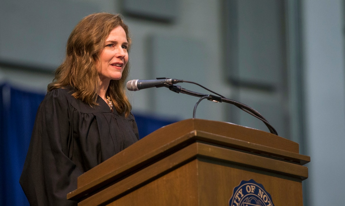Donald Trump to nominate conservative Justice Amy Coney Barrett to Supreme Court