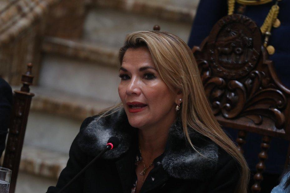 Bolivia - Jeanine Áñez - Bolivia's interim president tested positive last month.