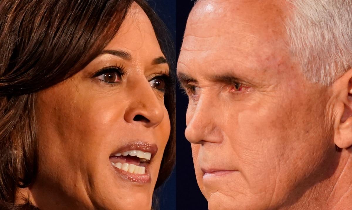 5 key moments in the debate between Kamala Harris and Mike Pence