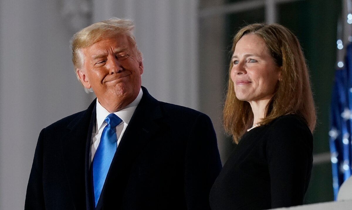 Amy Coney Barrett Sworn in as Justice of the United States Supreme Court