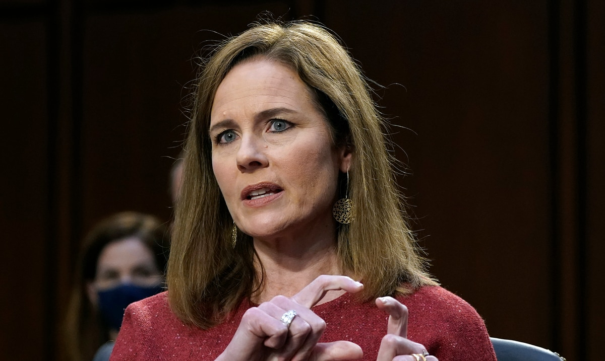 Judge Amy Conan Barrett reaffirms her conservative positions before the federal Senate