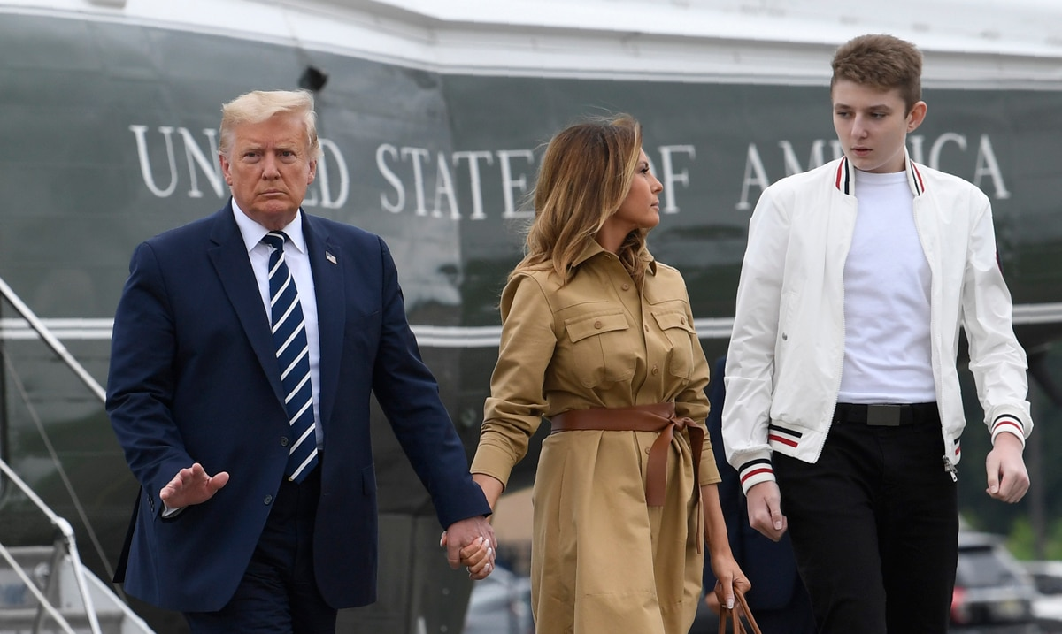Melania Trump reveals that her youngest son was also infected with COVID-19