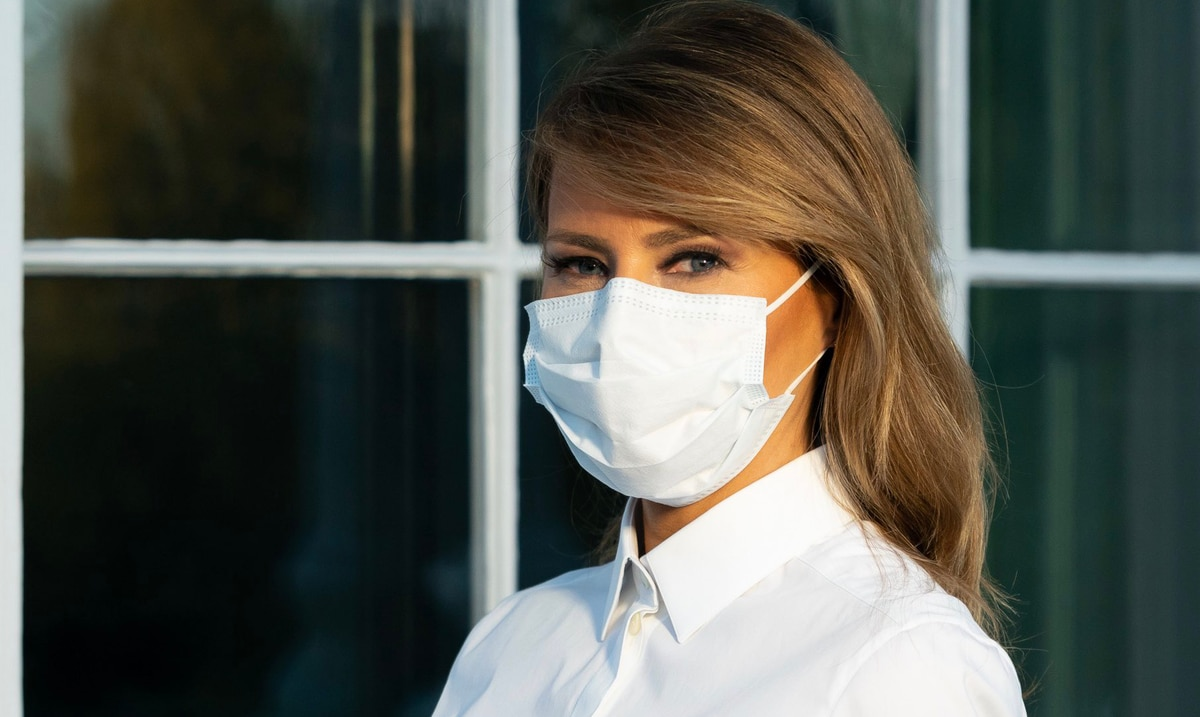 """Melania Trump says she feels """"good"""" and that she will continue to recover in the White House"""