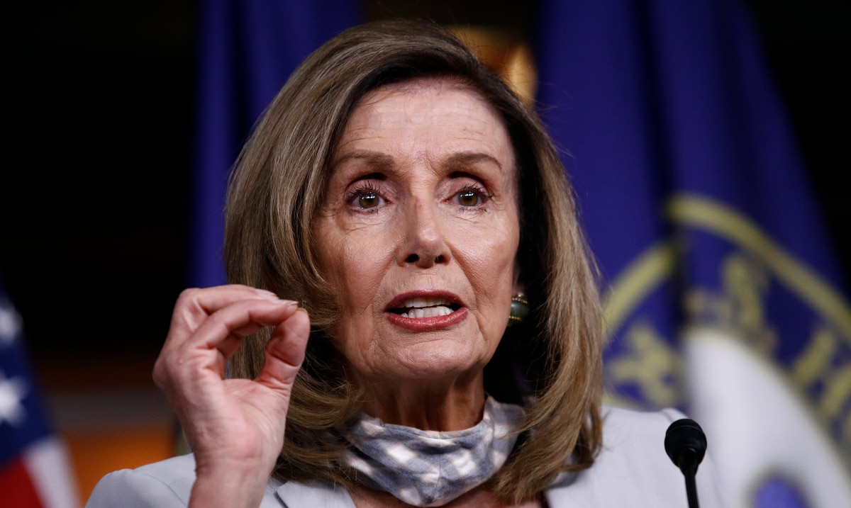 Nancy Pelosi Introduces Legislation for Group to Look at Donald Trump's Ability to Lead the Country