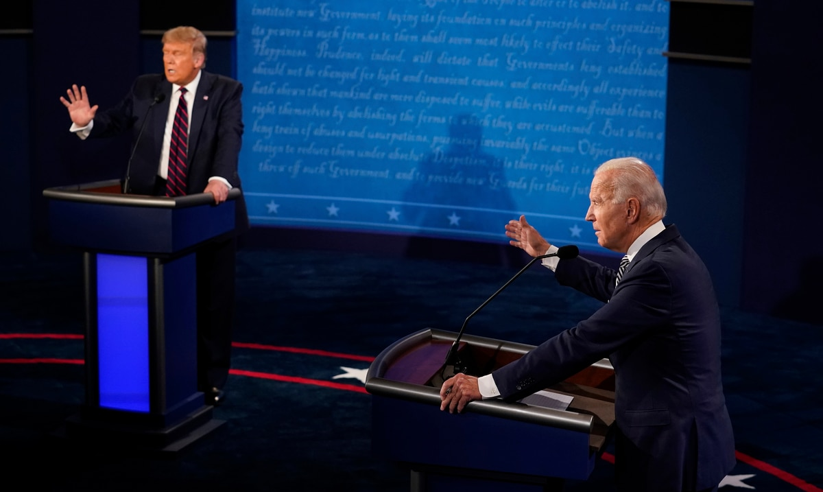 Second presidential debate canceled after failing to reach agreement with Trump's committee