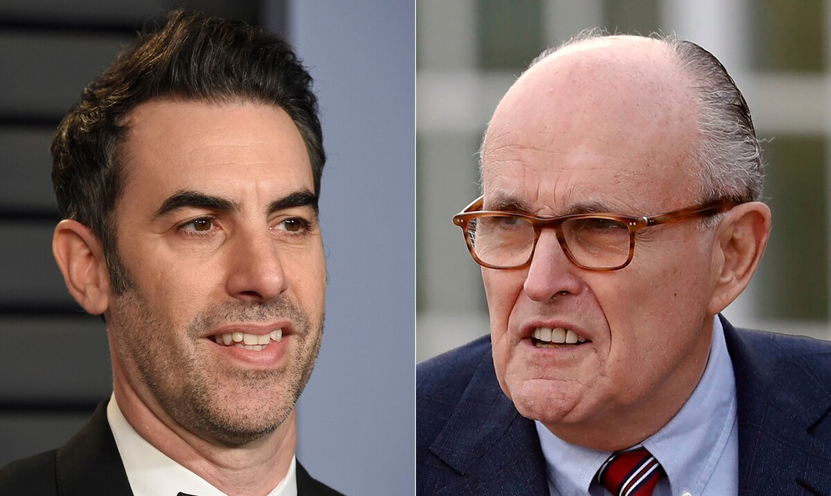 """The new """"Borat"""" movie features a controversial scene with former New York Mayor Rudy Giuliani"""