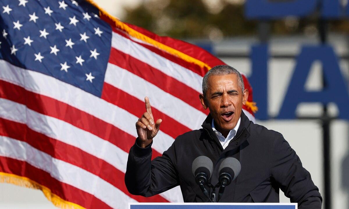 "Barack Obama on Joe Biden's victory: ""I couldn't be more proud"""
