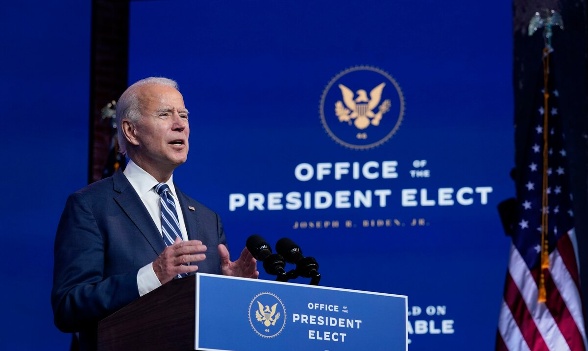"""Biden sees Trump's obstruction """"shameful"""" but says it will not affect him in the transition process"""