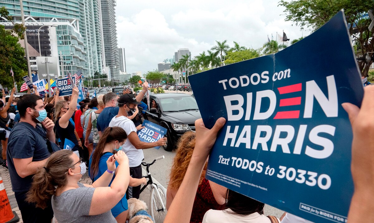 How did Latinos affect the outcome of the presidential election between Biden and Trump?