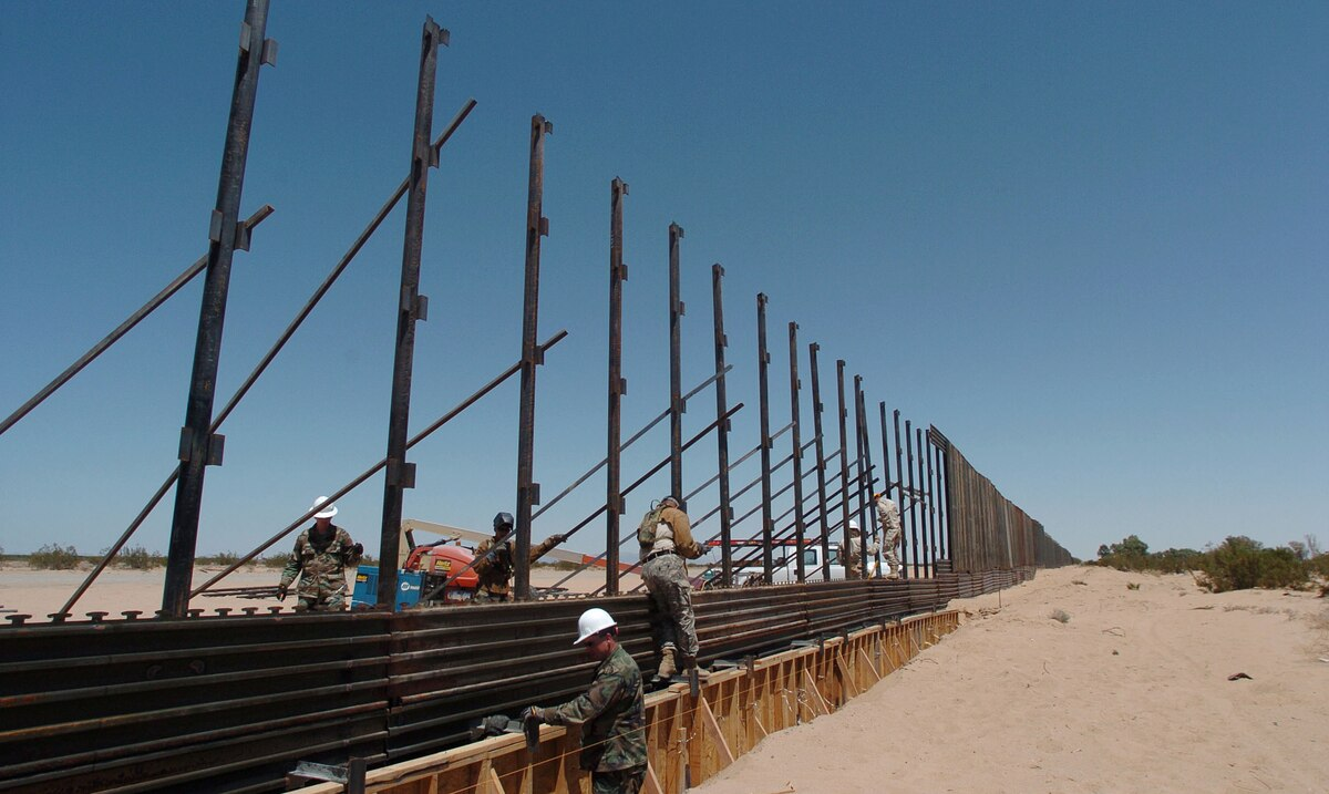 The rush to expand the border wall many fear is here to stay