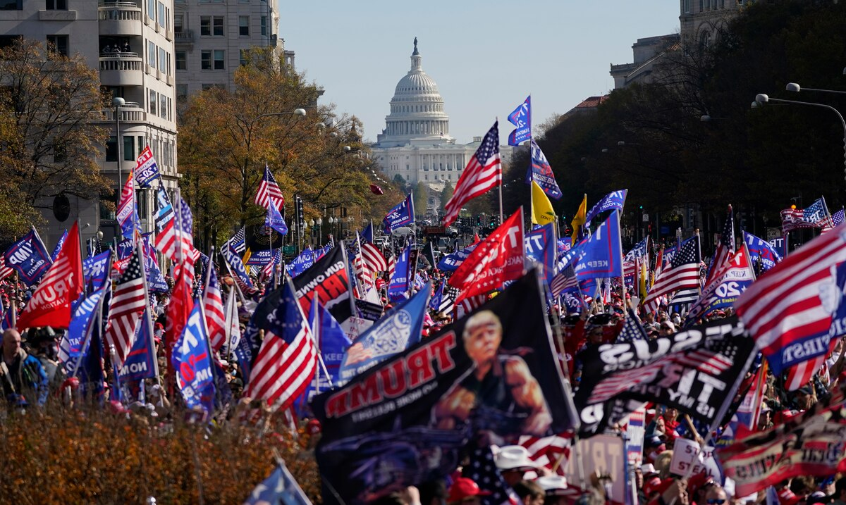 Donald Trump supporters will rally again in Washington DC to support him