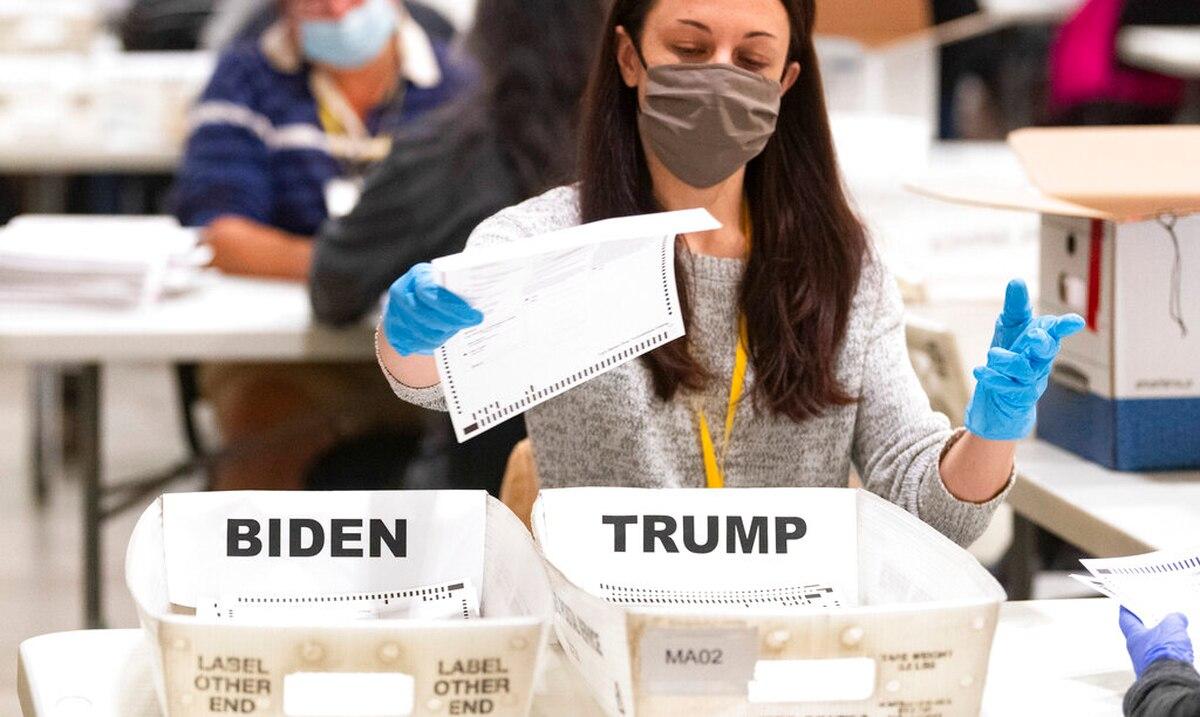 Georgia re-certifies Joe Biden's victory over Donald Trump in the state