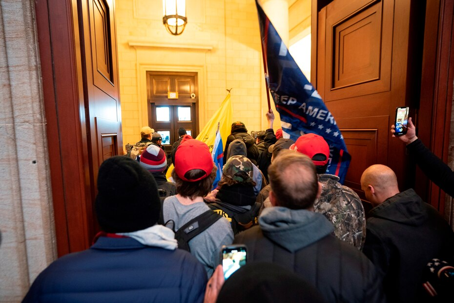 The protesters stormed the United States Congress on Wednesday after breaking down several  security fences and confronting the Police, who have been overwhelmed, causing chaotic scenes in the American capital.